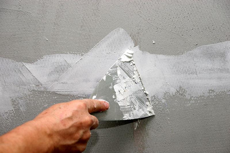 معرفی انواع بتونه در نقاشی ساختمان